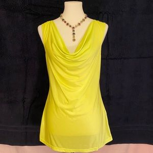 Rampage Drape front with crisscross back top